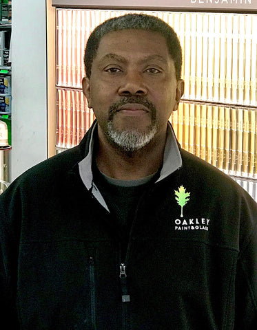 Martin Reed, Customer Service Delivery at Cincinnati Color Company and Oakley Paint and Glass.