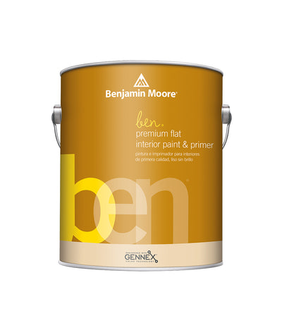 Benjamin Moore ben flat Interior Paint available at Cincinnati Color Company.