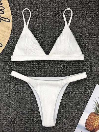 Sexy Bikini Set Patchwork Swimwear