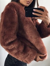 Fur Women's Overcoat