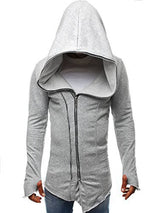 Plain Cardigan Zipper Hip Hop Hoodies