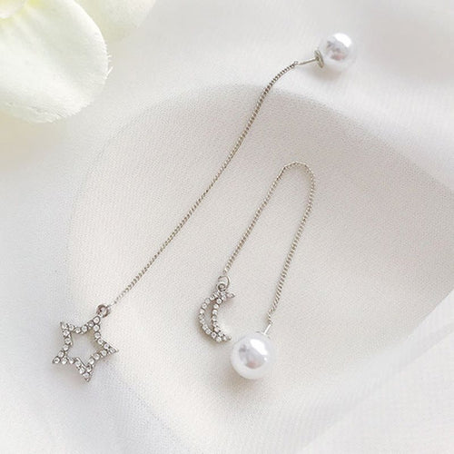 Star Korean Prom Earrings