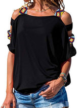 Short Sleeve Standard Casual Loose T-Shirt