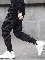 Overall Plain Pocket Four Seasons Casual Casual Pants