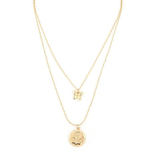E-Plating Pendant Necklace European Female Necklaces