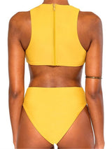 Plain Sexy One Piece Swimwear