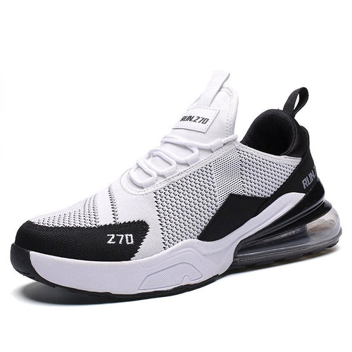 Sports Low-Cut Upper Lace-Up Mesh Round Toe Sneakers