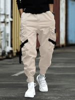 Pocket Plain Casual Spring Casual Pants