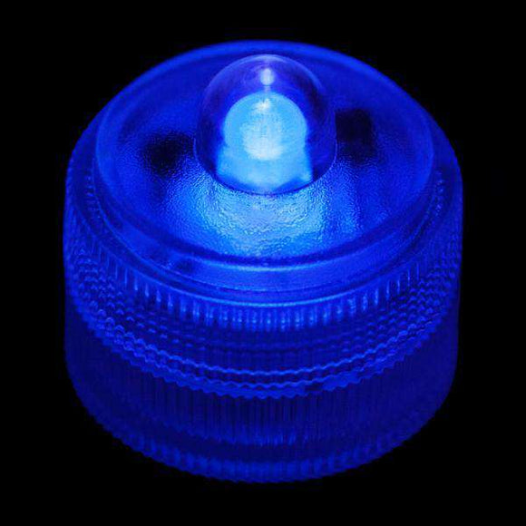 Blue Remote Controlled One LED Submersible Top View