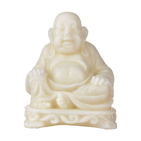 Handmade Hollow Buddha Wax Luminary