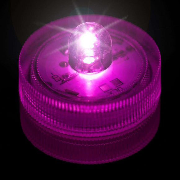Pink One LED Submersible Top View