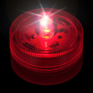 Red One LED Submersible Top View