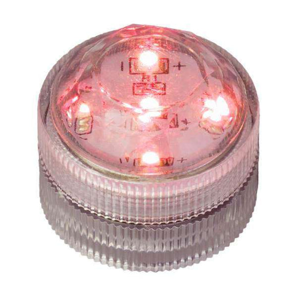 Red Five LED Submersible Top View In Light