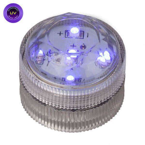 UV Five LED Submersible Top View In Light