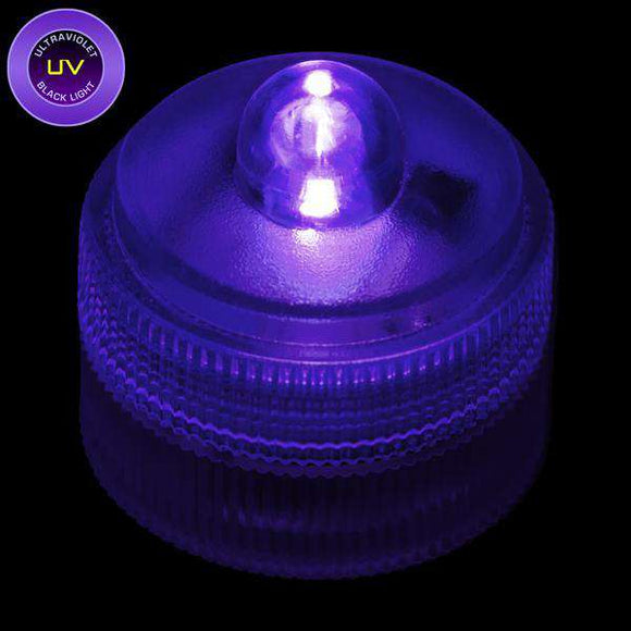 UV Remote Controlled One LED Submersible Top View