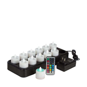 Multi-Color Rechargeable Candles Set - IntelliWick