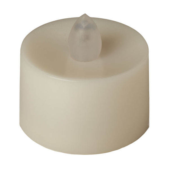 Colors Available - Flickering LED Tea Light - Pack of 12