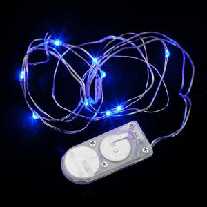 Blue Ten LED String Light - Pack of 3 - IntelliWick