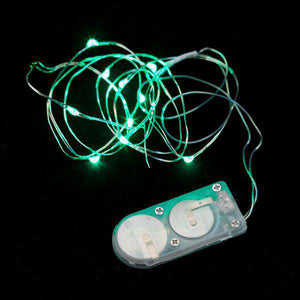 Green Ten LED String Light - Pack of 3 - IntelliWick