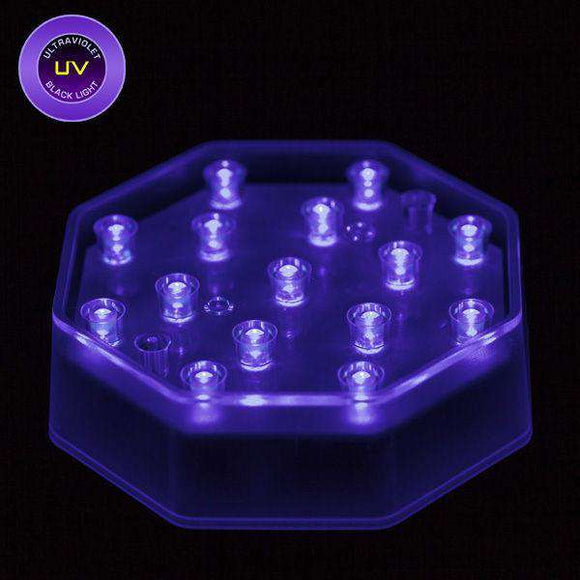 UV LED Octagon Light Base - IntelliWick