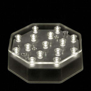 Warm White LED Octagon Light Base - IntelliWick
