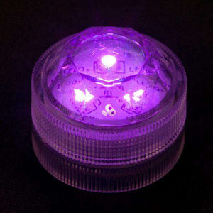 Purple Three LED Submersible Top View