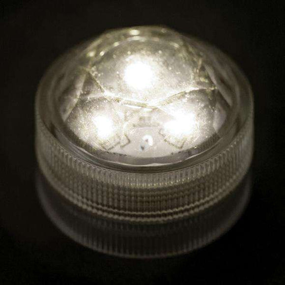 Warm White Three LED Submersible Top View