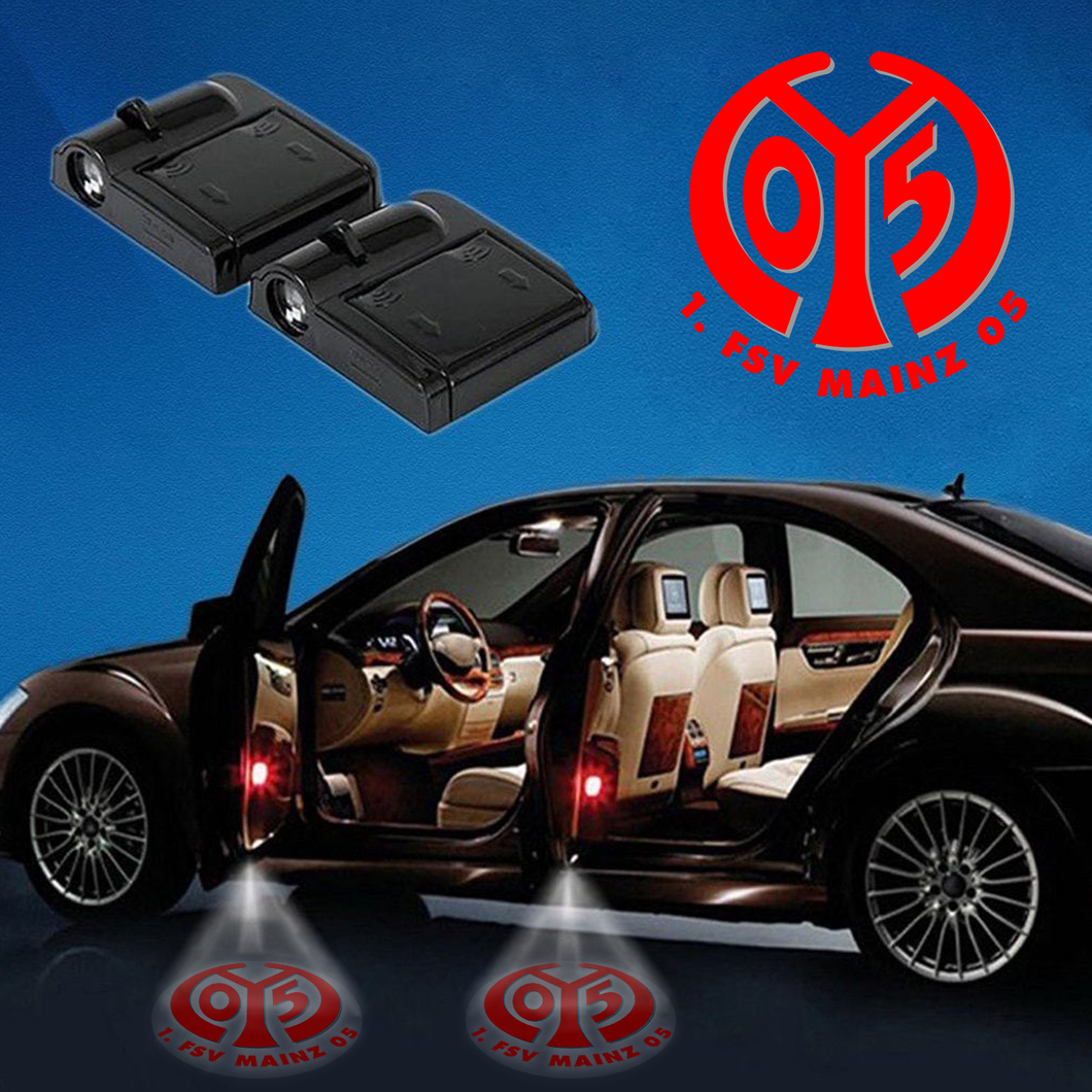 Carfbge1 -11 -Fsv Mainz Wireless Car Door Projector