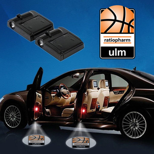 CarBkGe-16 Ratiopharm Ulm WIRELESS LED CAR DOOR PROJECTOR