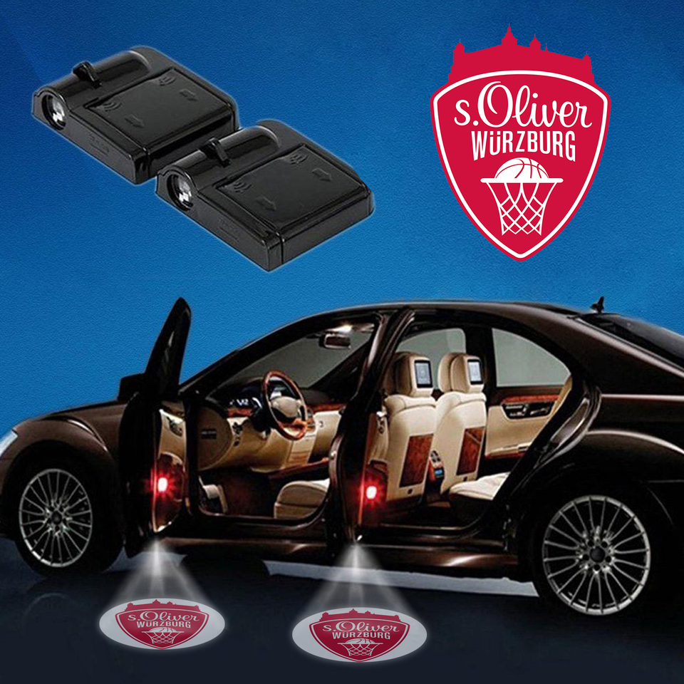CarBkGe-17 Oliver Würzburg WIRELESS LED CAR DOOR PROJECTOR