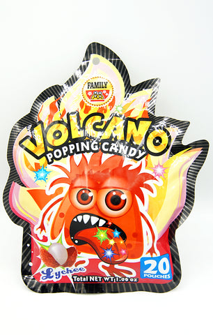 Volcano Popping Candy (Lychee)