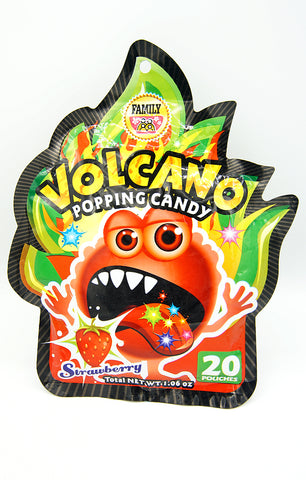 Volcano Popping Candy (Strawberry)
