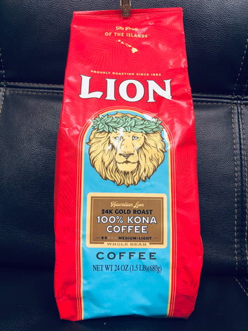 100% Kona Coffee (Whole Bean)