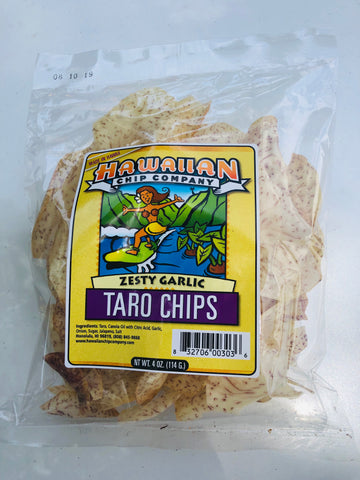 Local Taro Chips (Garlic)