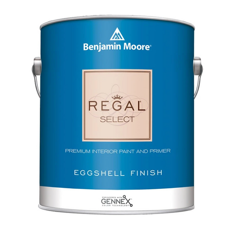 Gallon of Benjamin Moore Regal Select Interior Paint, available at John Boyle Decorating Centers in CT.