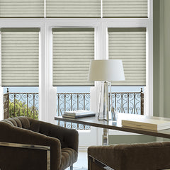 Hunter Douglas Sonette Cellular Roller window shades, available at John Boyle Decorating Centers in Connecticut.