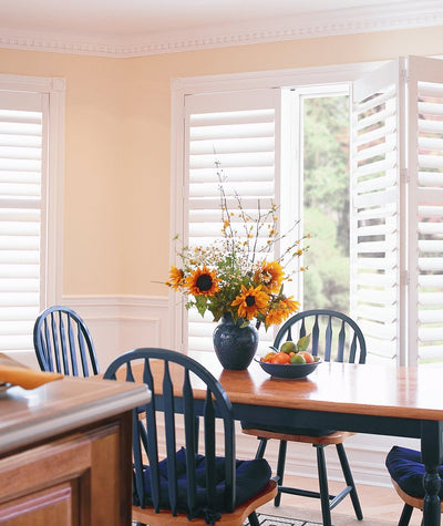 Hunter Douglas Window Treatments Palm Beach Dining Room