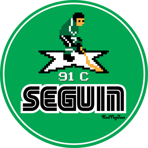 Seguin '94 sticker