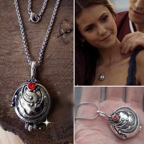 Vervain Necklace (Free Elena's Daylight Ring Included)
