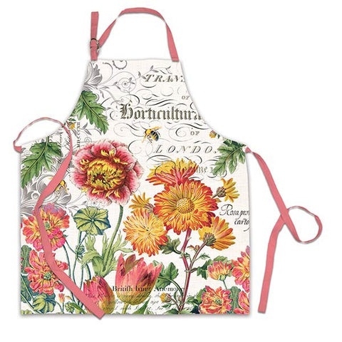Blooms & Bees Apron
