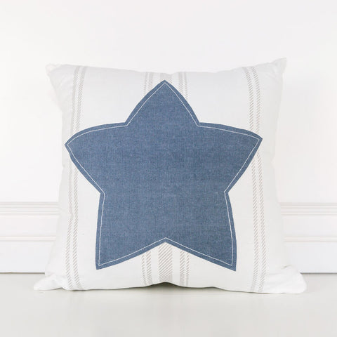 Reversible Star Pillow