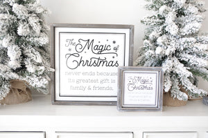Family & Friends Christmas Sign
