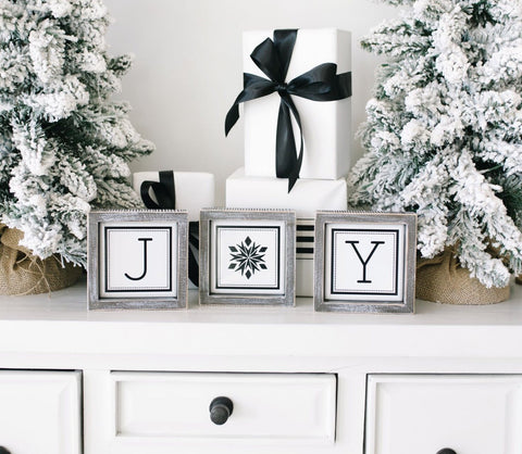 Joy 3 Piece Sign Set