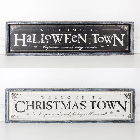 Halloweentown Sign