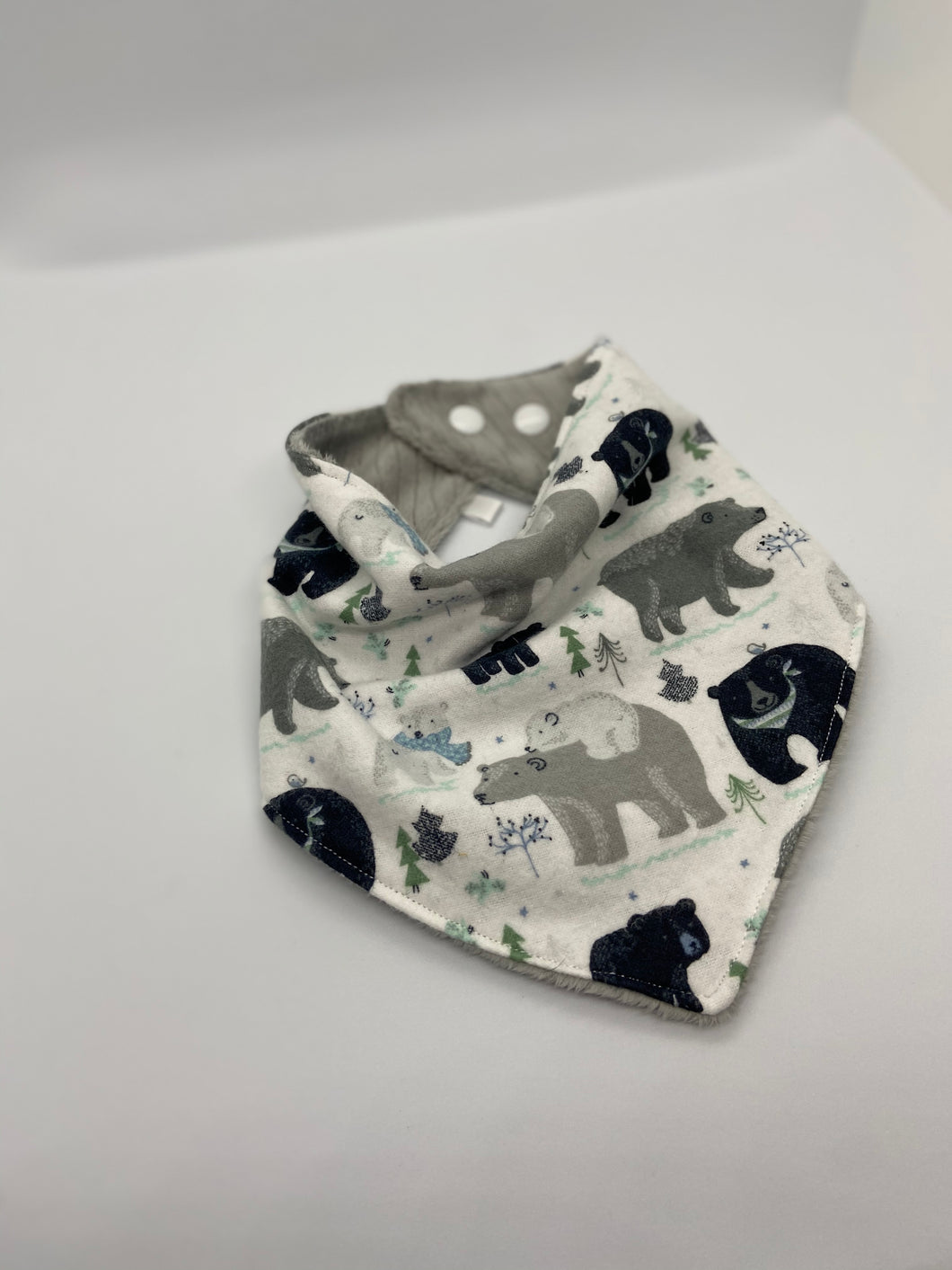 It's a Bear's Life Bandanna Style Bib