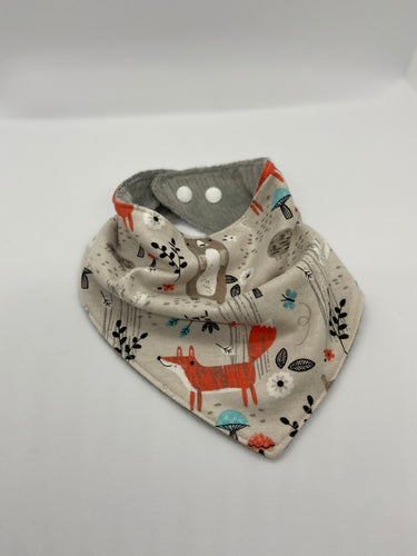 Forest Friends Bandanna Style Bib