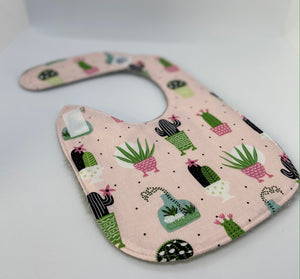 Super Cute Succulent Bib