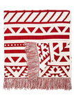 Aztec Throw in Teracotta 'LAST ONE'