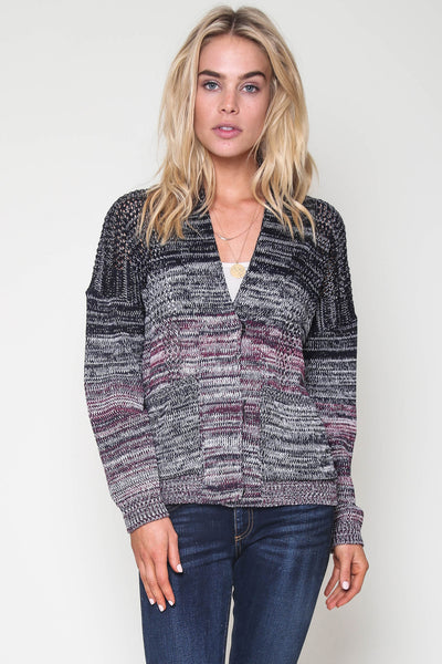 Dayton Boyfriend Cardigan in Sea Fair