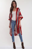 Fleetwood Fringe Kimono in The Weekend'LAST ONE'